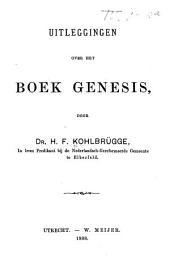 Uitleggingen over het Boek Genesis