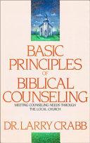 Basic Principles of Biblical Counseling