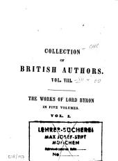 The Works of Lord Byron: Complete in 5 Vol