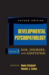 Developmental Psychopathology Risk Disorder And Adaptation Book PDF