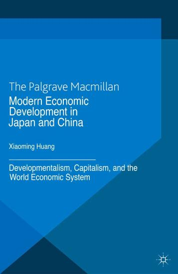 Modern Economic Development in Japan and China PDF