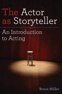 The Actor as Storyteller