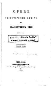 Opere scientifiche latine