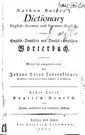 Dictionary, English-German and German-English ...