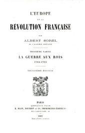 L'Europe et la revolution francaise: Partie3