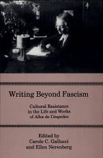 Writing Beyond Fascism