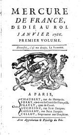 Mercure de France: Volume1