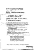 Sweet s Catalog File PDF