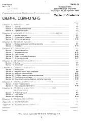 Communications-electronics Fundamentals: Digital Computers