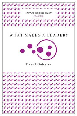 What Makes a Leader   Harvard Business Review Classics