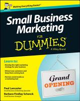 Small Business Marketing For Dummies PDF