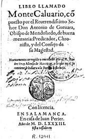 Libro llamado Monte Caluario