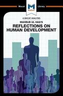Reflections on Human Development