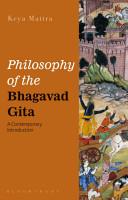 Philosophy of the Bhagavad Gita PDF