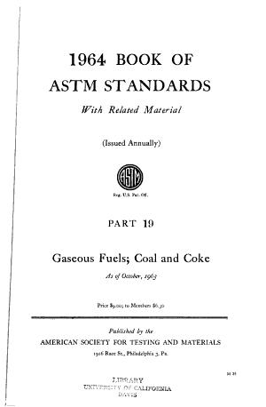 Book of ASTM Standards with Related Material  1965 PDF
