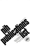 NIH Publications List PDF