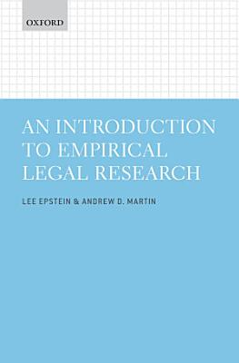An Introduction to Empirical Legal Research PDF