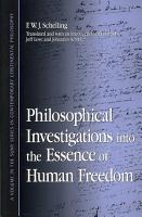 Philosophical Investigations into the Essence of Human Freedom PDF