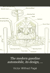 The Modern Gasoline Automobile, Its Design, Construction, Maintenance and Repair: A Practical, Comprehensive Treatise Explaining All Principles Pertaining to Gasoline Automobiles and Their Component Parts; the Most Complete Up-to-date Treatise on Gasoline Automobiles Ever Published ...
