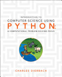 Introduction to Computer Science Using Python PDF