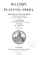 Platonis opera: Volume 3