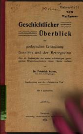 Geschichtlicher überblick der geologischen erforschung Bosniens und der Hercegovina. Zum 25