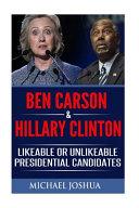 Ben Carson   Hillary Clinton