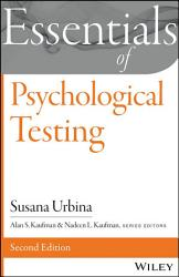 Essentials Of Psychological Testing Book PDF
