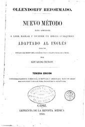 Nuevo método para aprender a leer, hablar y escribir un idioma cualquiera, 1-2: adaptado al inglés para uso de los alumnos del Colégio de S. Felipe Neri de Cádiz