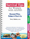 Survival Tips for Women with AD HD