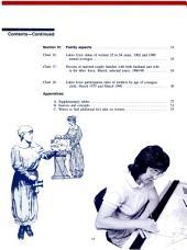 Working Women: A Chartbook