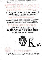 Vite de Santi et beati dell'Umbria