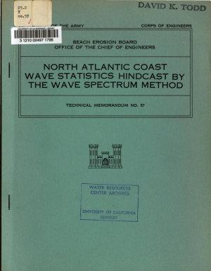 North Atlantic Coast Wave Statistics Hindcast by the Wave Spectrum Method PDF
