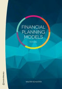 Financial Planning Models in Excel