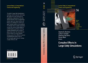 Complex Effects in Large Eddy Simulations Book