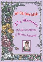 The Memoirs of a Mormon Mistress   Victorian Housewife PDF