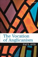 The Vocation of Anglicanism PDF