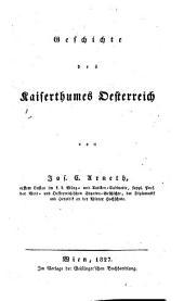 Geschichte des Kaiserthumes Österreich