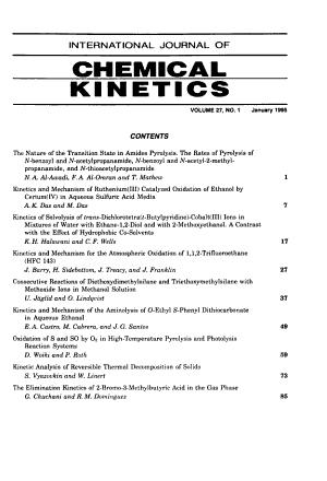 International journal of chemical kinetics