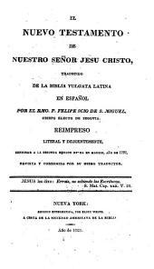 El Nuevo Testamento de Nuestro Señor Jesu Cristo