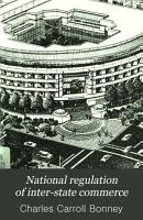 National Regulation of Inter state Commerce PDF