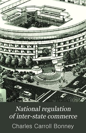 National Regulation of Inter state Commerce PDF