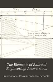 The Elements of Railroad Engineering: Answersto questions