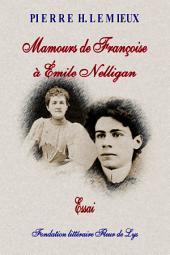 Mamours de Françoise à Émile Nelligan