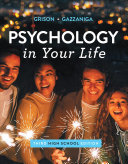 Psychology in Your Life Book
