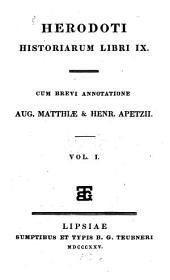 Historiarum Libri IX: Τόμος 1