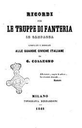 Ricordi per le truppe di fanteria in campagna compilati e dedicati alle Guardie civiche italiane