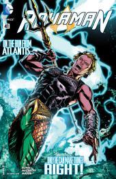 Aquaman (2011-) #41