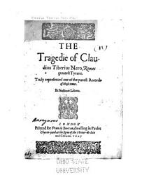 The Tragedie Of Claudius Tiberius Nero Romes Greatest Tyrant Book PDF