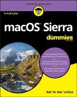 macOS Sierra For Dummies PDF